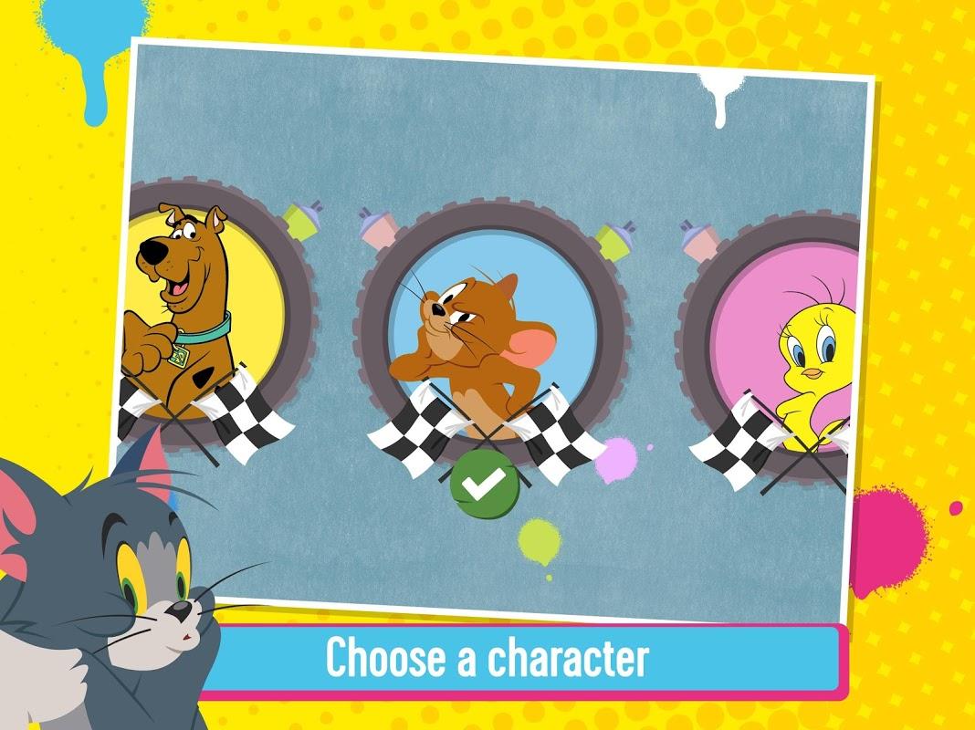 Criar e Acelerar: Jogo de Corridas do Scooby-Doo screenshot 1