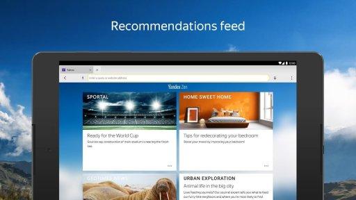 Yandex Browser (alpha) screenshot 7