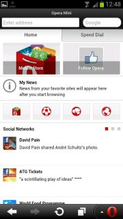 Opera Mini web browser 28 0 2254 119224 Download APK for Android