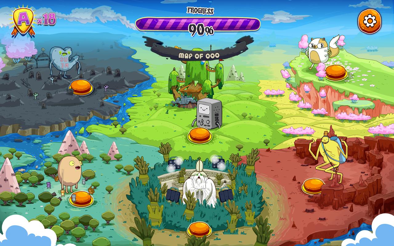 Rockstars of Ooo screenshot 2