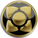 Next Launcher Theme GOLD BLACK
