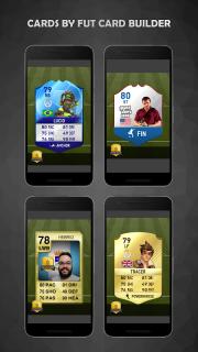 FUT Card Builder 18 screenshot 5