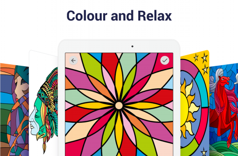 Paint by Numbers: New Colouring Pictures Book Free screenshot 11