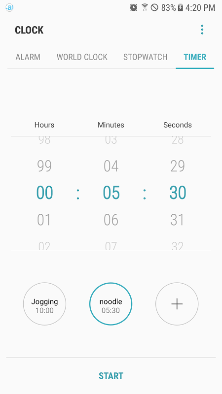 Samsung Clock screenshot 5