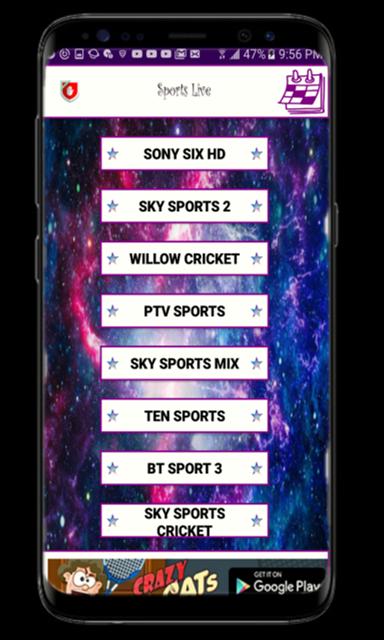 SL Lite -Live Cricket App screenshot 2