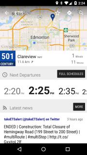 Edmonton ETS LRT - MonTransit screenshot 2