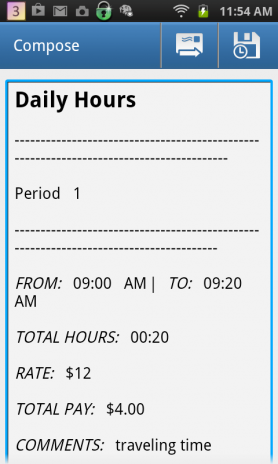 calculate work hours timesheet 1 1 download apk for android aptoide