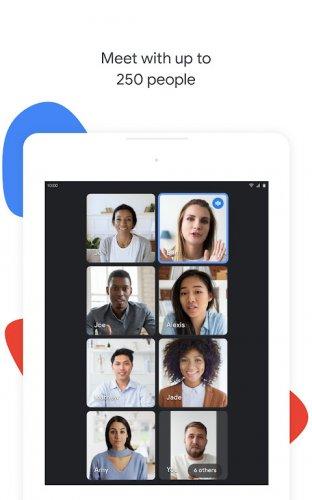 Google Meet screenshot 16