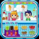 Ice cream maker game