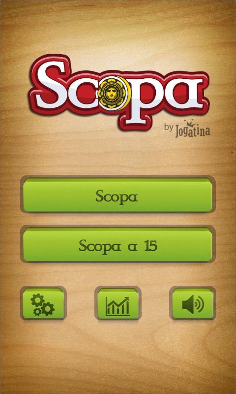 Scopa screenshot 2