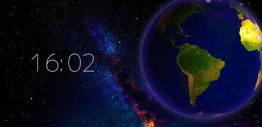 Earth Live Wallpaper [Adfree] - Hình Nền Động Trái Đất Tuyệt Đẹp Cho Android Mod APK