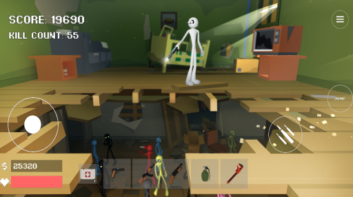 Stickman Combat Pixel Edition screenshot 3