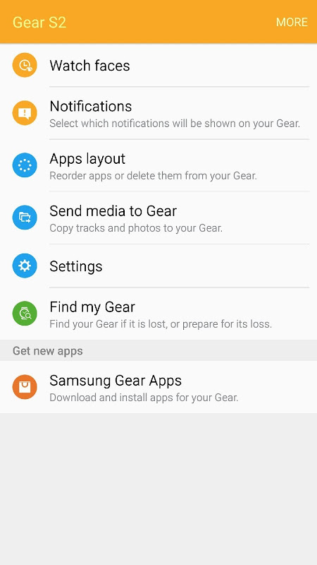 Galaxy Wearable (Samsung Gear) screenshot 1