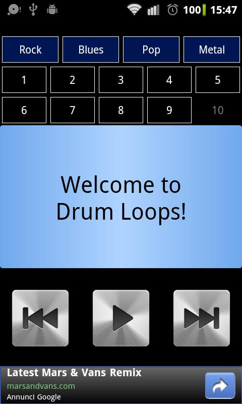Drum Loops screenshot 1