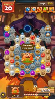 Monster Busters: Hexa Blast screenshot 3