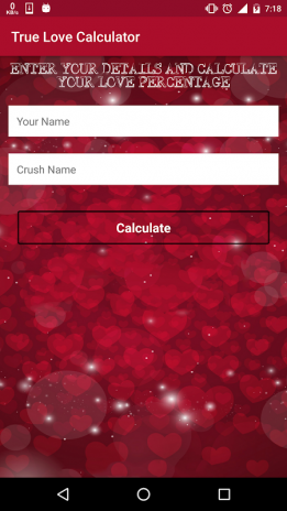 True Love Calculator 2 0 1 Unduh APK untuk Android - Aptoide