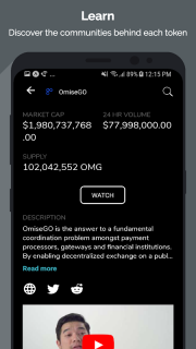 Tokens - Ethereum Portfolio Tracker & ICO News screenshot 3