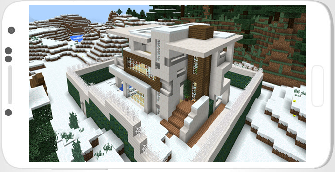Mcpe Redstone Mansion Map Download Modern Redstone Mansion Creation