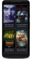 HD Movies & Shows Screen