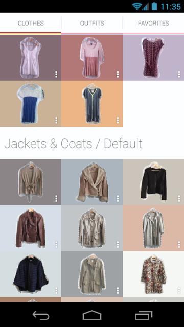 Stylish Fashion Closet Apk Screenshot