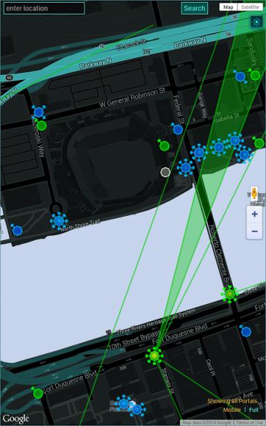 ingress intel map app