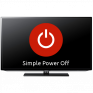 simple power off icon