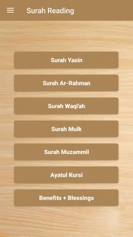 Surah Yasin,Ar-Rahman,Ayatul Kursi (Offline Audio) 119 0