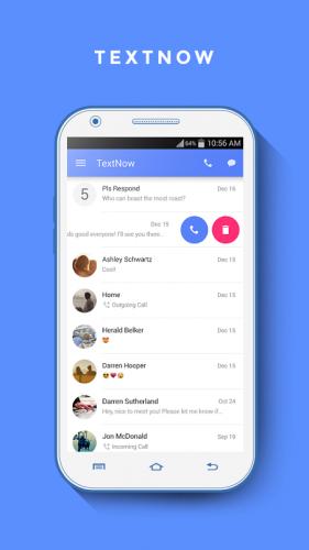 TextNow - Free US Phone Number screenshot 3