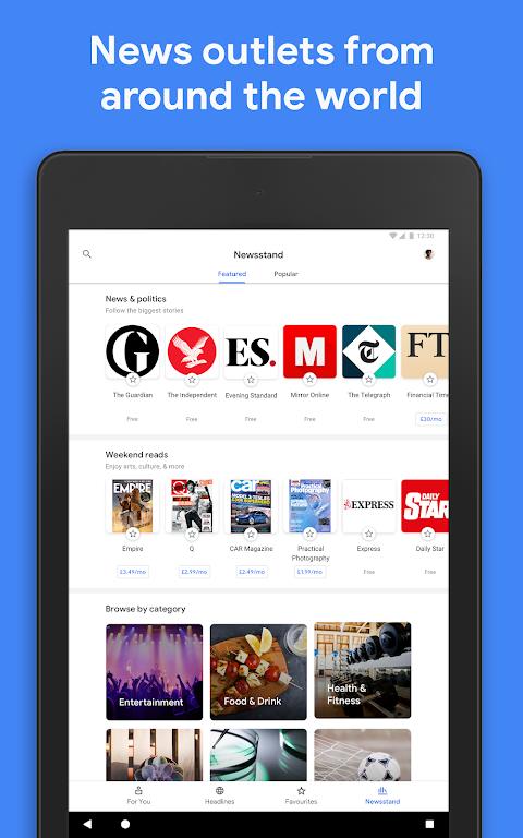 Google Play Newsstand screenshot 8