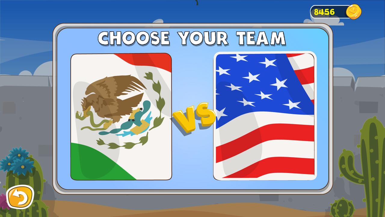 Jump the Wall - Mexico USA : Catapult, Jump, Escape - Appcoins ed. screenshot 1