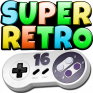 superretro16 lite snes icon