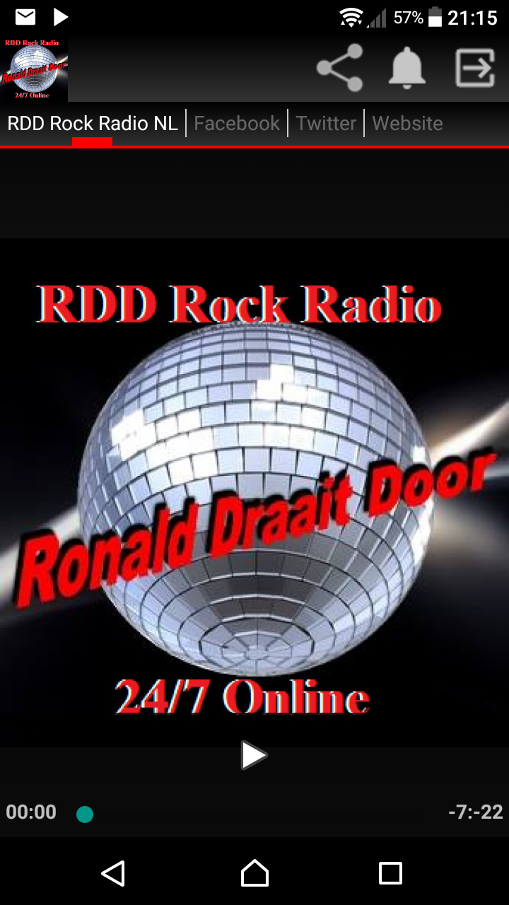 RDD RockRadio NL screenshot 1