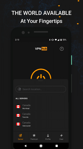 Vpnhub Best Free Unlimited Vpn Secure Wifi Proxy 3 7 2 Mobile Download Android Apk Aptoide