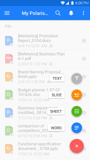 Polaris Office - Word, Docs, Sheets, Slide, PDF screenshot 22