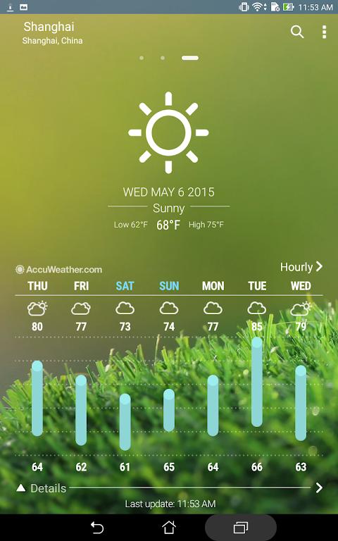 ASUS Weather screenshot 2