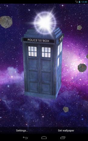 tardis live wallpaper  TARDIS 3D Live Wallpaper 1.5 Download APK for Android - Aptoide