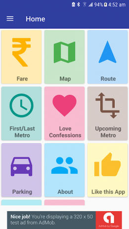 Delhi Metro Navigator -New Fare,Route,Map May'2018 1 0 42