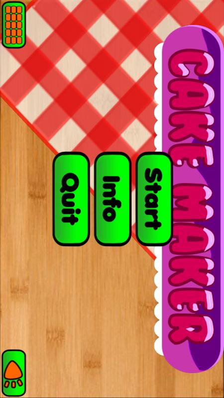 Cake Maker Cooking for kids screenshot 1