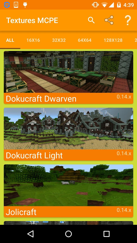 Texture Pack for Minecraft PE screenshot 2