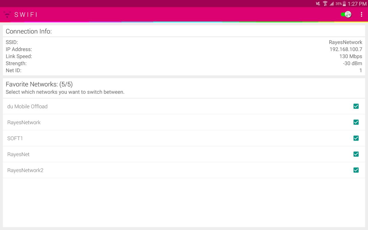 SWIFI+ | Auto Switch Best WiFi screenshot 1
