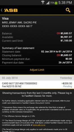 Asb Mobile Banking Screenshot 11