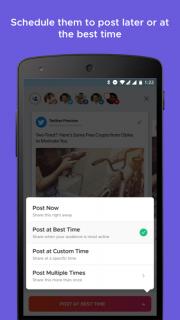 Crowdfire: Social Media Manager screenshot 3
