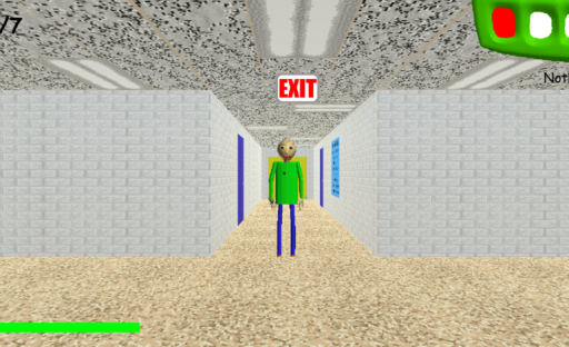Baldi's Basics in Education and Learning screenshot 1