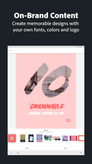 Adobe Spark Post: Graphic Design & Story Templates screenshot 4