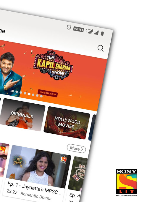 SonyLIV - TV Shows, Movies & Live Sports Online 4 8 6