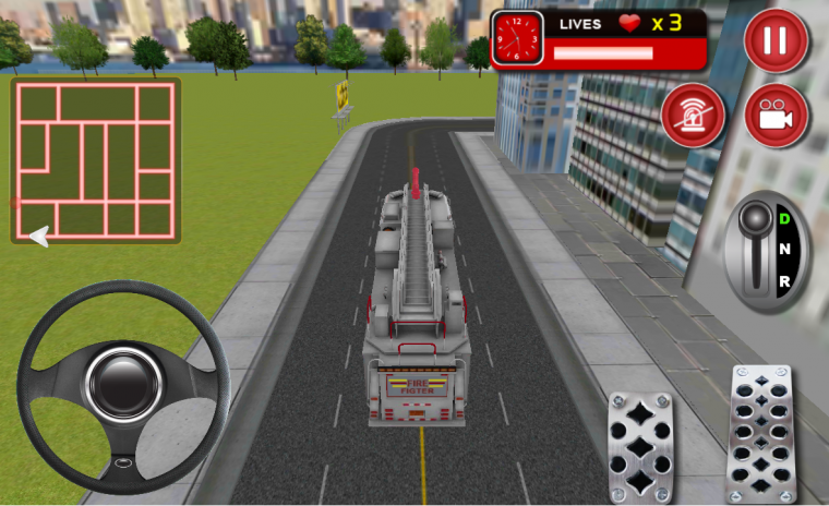 Fire Fighter Truck Rescue 3D 2 8 Download APK for Android