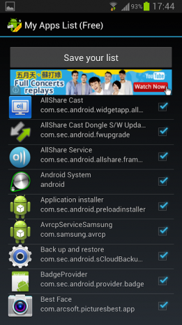 My Apps List (Free) 1 01 1 Download APK for Android - Aptoide