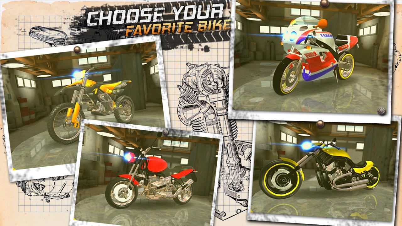 Traffic Rider: Highway Race screenshot 1