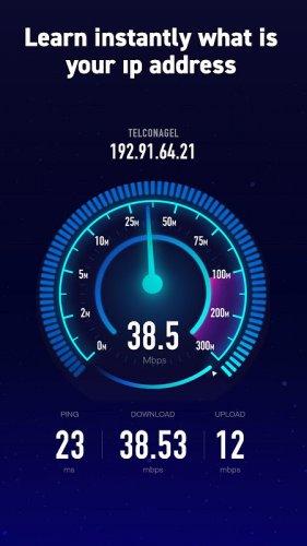 Internet Speed Test: Wifi, Net, 3G, 4G, 5G, Fiber screenshot 4