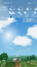 awesome weather yowindow live wallpaper widgets screenshot 2
